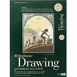 Strathmore 80-pound Acid-free Medium Drawing Paper Pad (18 x 24)