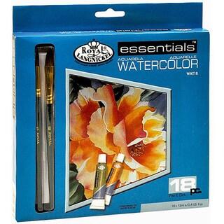 Essentials Watercolor Paint Sets (Case of 18)