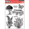 Penny Black ' Enjoy Life' Clear Stamp Sheet