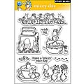 Penny 'Micey Day' Clear Stamp Sheet