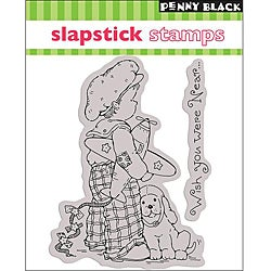 Penny Black 'Fly Away' Cling Rubber Stamp