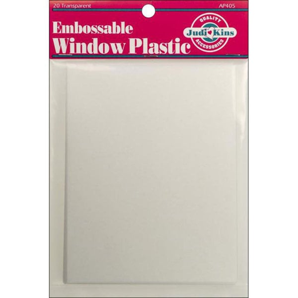 Embossable Window Plastic Sheets