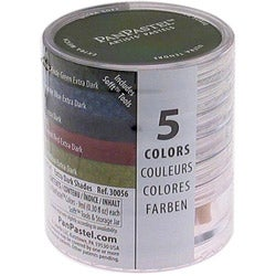 PanPastel Ultra Soft Artist Extra Dark Shades Pastel Set