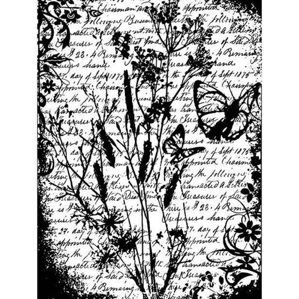 Tim Holtz 'Flutter' Cling Rubber Stamp