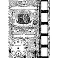 Tim Holtz 'Photograph' Cling Rubber Stamp