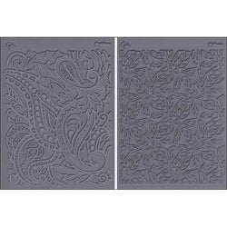 'Flow Foliage and Paisley' Stamp Set (Pack of 2)