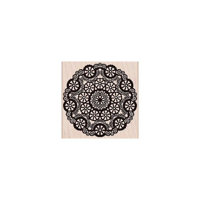 Hero Arts 'Circle Lace' Wood Stamp
