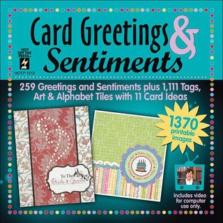 Card Greetings and Sentiments CD