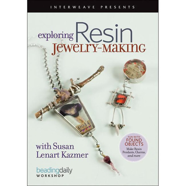 Interweave Press 'Exploring Resin Jewelry-Making' DVD