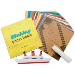 Sterling Publishing 'Making Paper Boats' Kit
