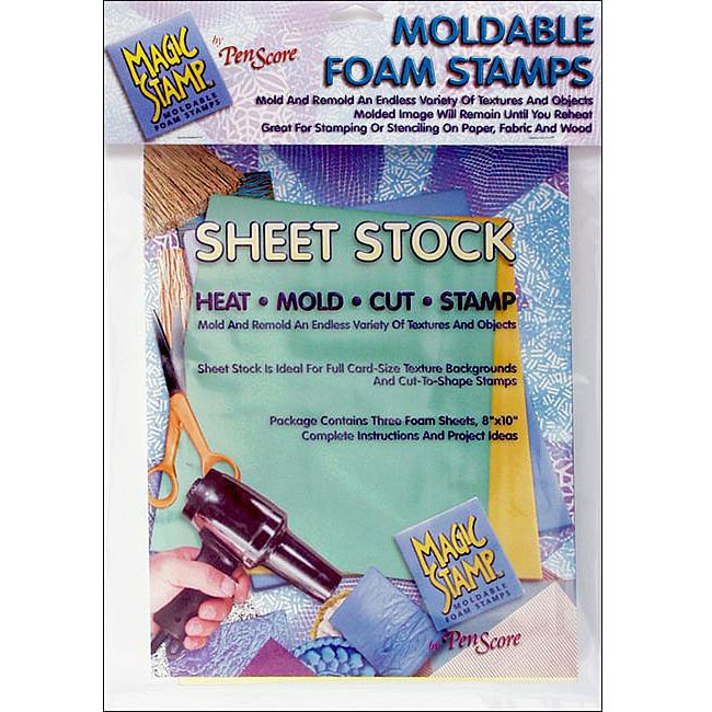Clearsnap Magic Stamp Moldable-foam Craft Sheet Stock (Pack of Three)