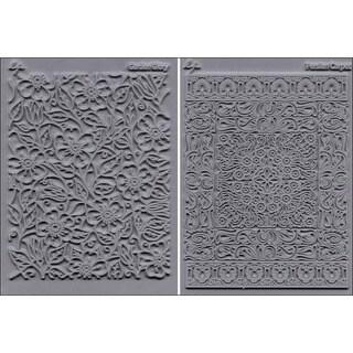 'Flourish Garden Glory and Persian Carpet' Stamp Set (Pack of 2)