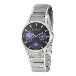 Skagen Women's 'Sport' Stainless Steel Mineral Crystal Quartz Watch