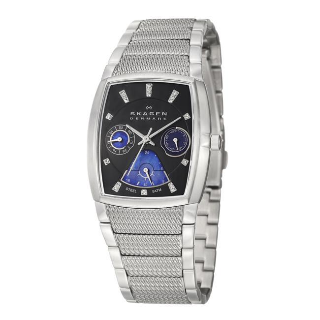 Skagen Women's 'Sport' Stainless Steel Crystal Quartz Watch