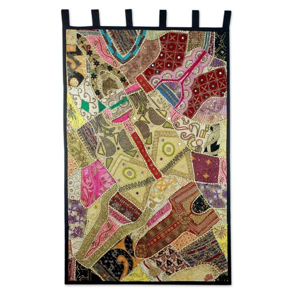 Cotton 'Marvelous' Wall Hanging , Handmade in India