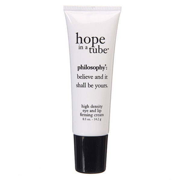 Philosophy: Hope in a Tube Eye and Lip Contour Cream Tube 0.5 oz