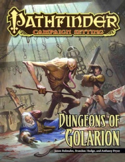 Dungeons of Golarion (Paperback)