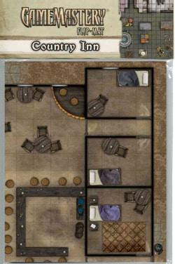 Gamemastery Flip-Mat: Country Inn (Paperback)