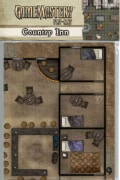 Gamemastery Flip-Mat: Country Inn (Paperback)