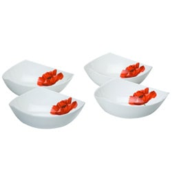 Red Vanilla 'Summer Sun' Set of 4 Soup Bowls
