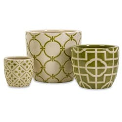 Da Nang 3-piece Decorative Containers