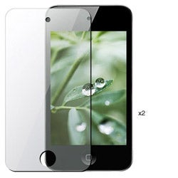 INSTEN Clear Screen Protector for iPod Touch 4 (Pack of 2)