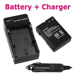 Li-ion Battery/ Battery Charger Set for Nikon EN-EL14/ CoolPix P7000