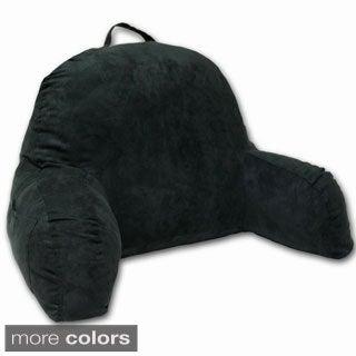 Dark Green Microsuede Bed Rest