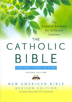 The Catholic Bible: New American Bible Revised Edition Bonded Leather, Personal Study Edition (Paperback)