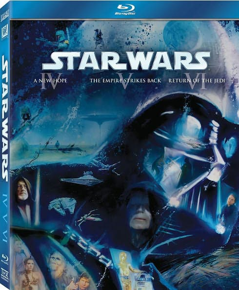 Star Wars: The Original Trilogy (Episodes IV - VI) (Blu-ray Disc)