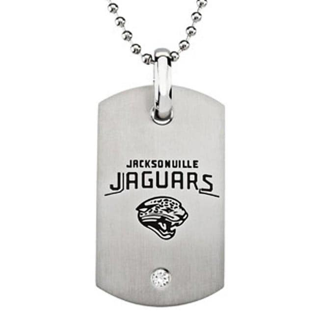 Jacksonville Jaguars Stainless Steel Dog Tag