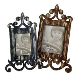 Wood Americana Scroll 2-piece Frame Set