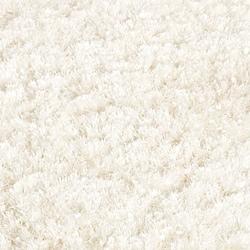 Safavieh Hand Tufted Malibu Shag White Polyester Rug 5 X