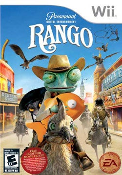 Wii - Rango - By Electronic Arts