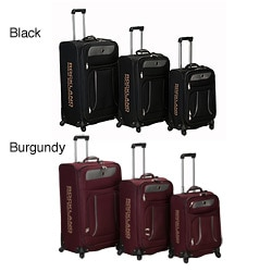 Rockland Polo Equipment Expandable Spinner 3-pc Luggage Set