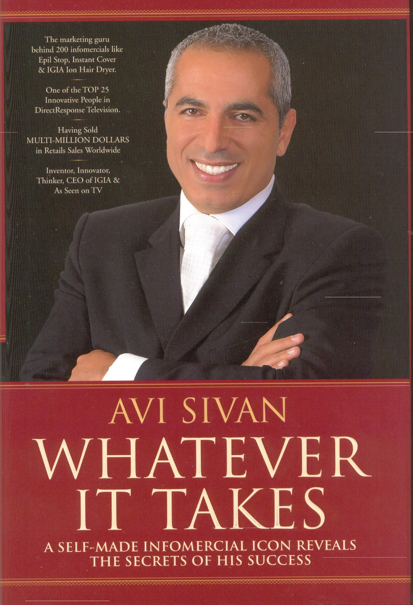 As Seen On TV 'Whatever It Takes' by Avi Sivan