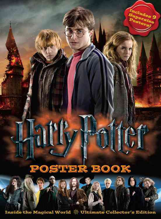 Harry Potter Poster Book: Inside the Magical World: Ultimate Collector's Edition