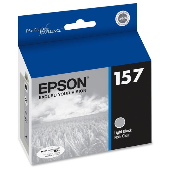 Epson UltraChrome K3 T157720 Ink Cartridge - Light Black