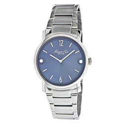 Kenneth Cole Men's Stainless Steel Blue Dial Watch