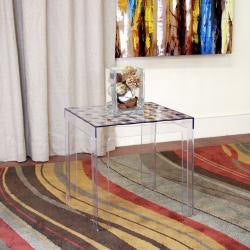 Parq Modern Clear Acrylic End Table