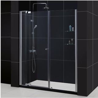 DreamLine Allure 54-61x73-inch Frameless Pivot Shower Door