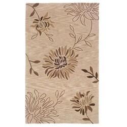 Urban Fashions Hand-tufted Brown Rug (7'9 x 9'9)