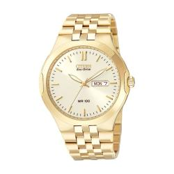 Citizen Eco-Drive Men's 'Corso' Goldtone Watch