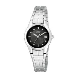 Citizen Eco-Drive Women's Stainless Steel Dress Watch