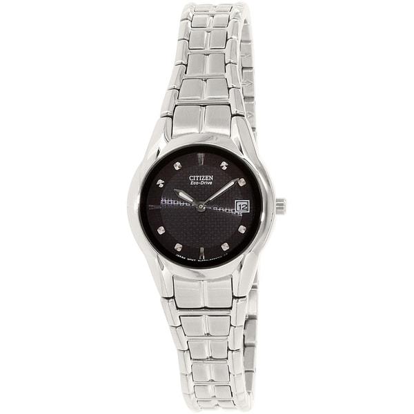 Citizen Eco-Drive Women's Stainless Steel Dress Watch