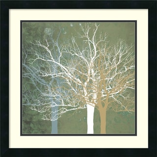 Erin Clark 'Quiet Forest' Framed Art Print