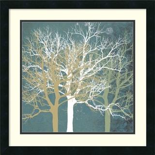 Erin Clark 'Tranquil Trees' Framed Art Print