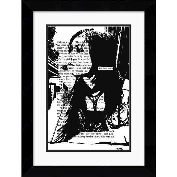 John Clark 'Another Story' Framed Art Print