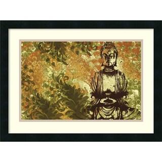 Erin Clark 'Zen Garden' Framed Art Print
