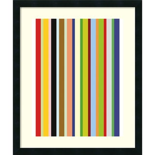 Ron Bleier 'Candy Stripe' Framed Art Print